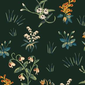 FloraPattern green