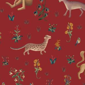 Fauna red