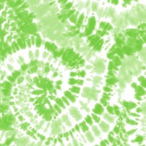 green tie dye swirls - LAD19BS