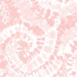 light pink tie dye swirls - LAD19BS