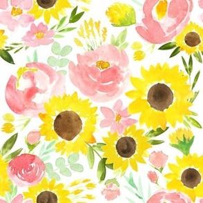 Sunflower Garden - SMALL