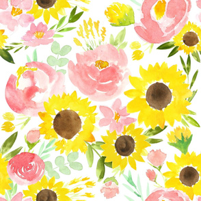 Sunflower Garden - LARGE