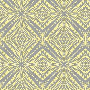 Jungle Diamonds (#7) of Mystic Grey on Morning Sunlight (#7)