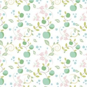 Floral apples