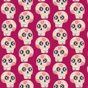 Mexican Sugar Skulls Pink