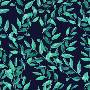 Green Leaves dark
