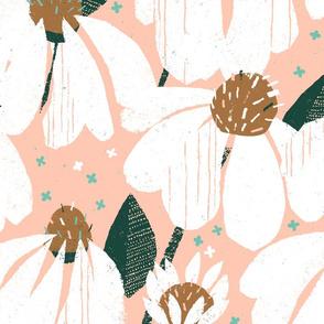 Papercut Echinacea Bouquet Rosé by Friztin