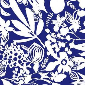 Florantine Summer - cobalt