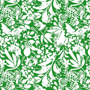 Florantine Summer - pure green