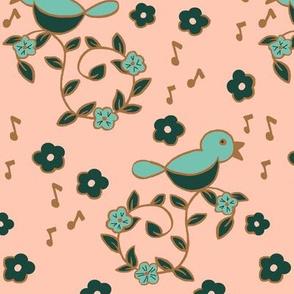 Summer Song / Blush & Bronze
