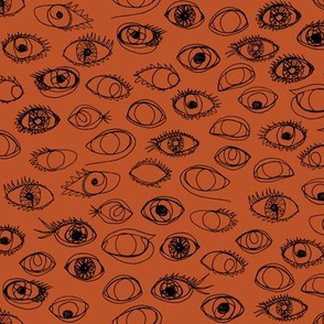 eye c u burnt orange - small scale