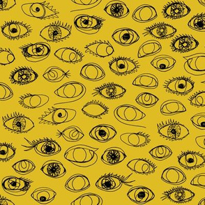 eye c u mustard - small scale