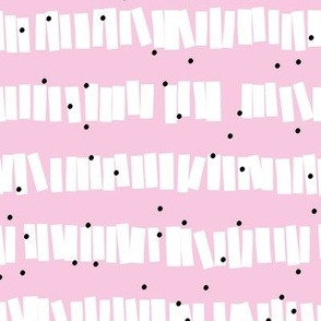 Minimal piñata paper confetti party abstract cut out stripes soft summer nursery girls