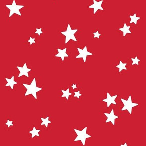 stars med white on red || independence day USA american fourth of july 4th