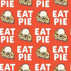 Eat Pie - Apple pie à la Mode - orange2 - fall - LAD19
