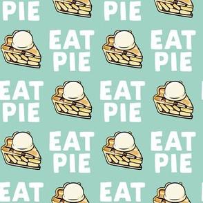 Eat Pie - Apple pie à la Mode - mint - fall - LAD19