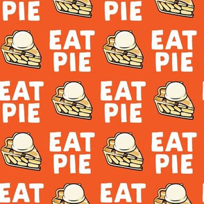 Eat Pie - Apple pie à la Mode - orange - fall - LAD19