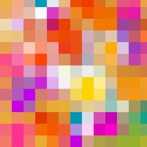 Mosaic (Gold) 20inch repeat, David Rose Designs