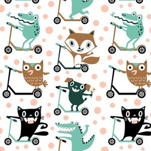 scooter critters