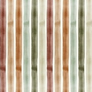 Watercolor stripes (multi) - fall winter - LAD19