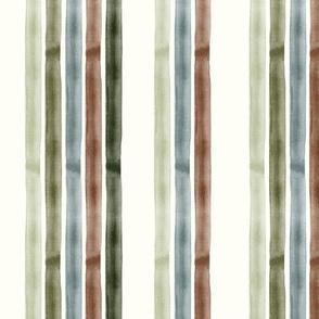 Watercolor stripes - fall winter - LAD19