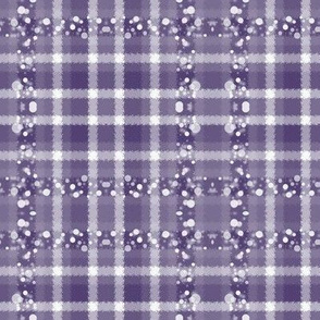 JP35 - Medium - Jazzed Up Jagged Plaid in Lavender Grey Tones