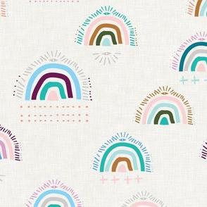 Pop Moroccan Rainbow ( white) MED