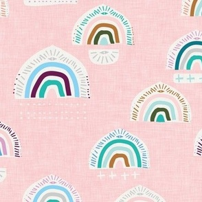 Pop Moroccan Rainbow (pink) MED