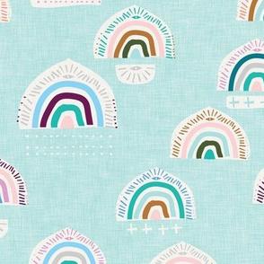 Pop Moroccan Rainbow (sky blue) MED