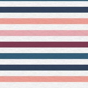 "Pink Plum Vintage Stripe(A)-1/2"""