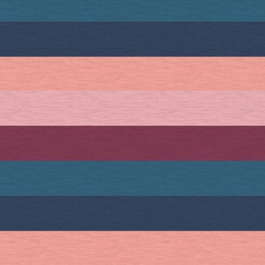 "Pink Plum Vintage Stripe (C)-1"""
