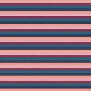 "Pink Plum Vintage Stripe (C) - 1/2"""
