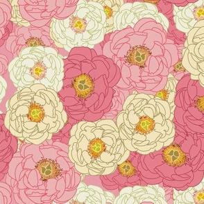 Lady Peony Flowers