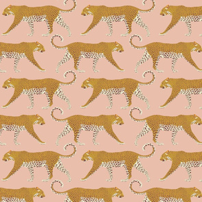 Leopards in pink - medium