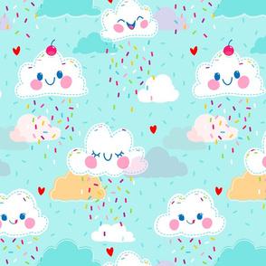 Raining Sprinkles - Larger Print