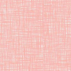 Painted Canvas* (Mona) || texture faux linen hatch hatching living coral pastel