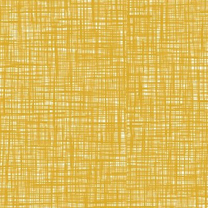 Painted Canvas* (Gold Marilyn) || texture faux linen hatch hatching mustard