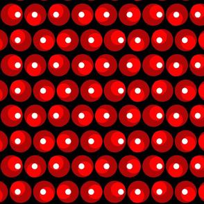 Roller Coaster Polka Dots - Medium