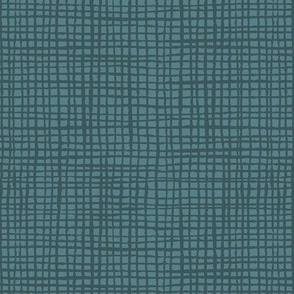 dark teal woven textured solid