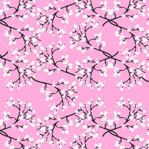 Snow White Blossom Lace - pink