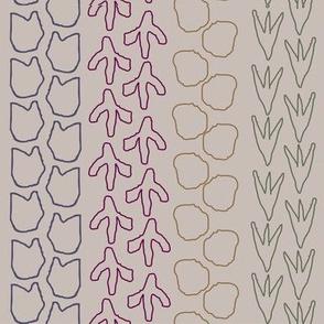 Dino stripe