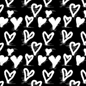 Black is cool_Hearts