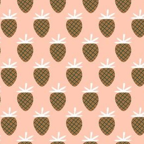 Pink / Bronze Strawberries