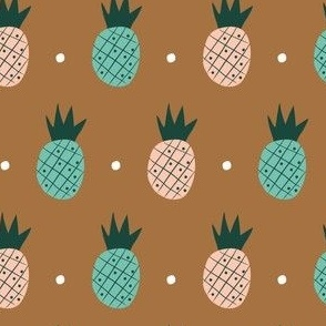 Bronze Pineapples