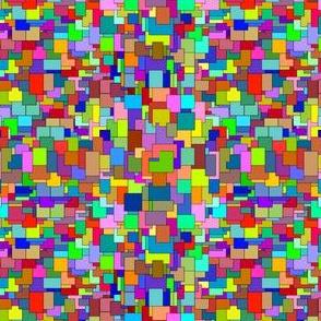Digital Noise - Patchwork Pixels