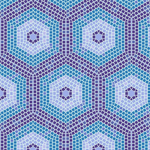 Recolour_Mosaic_Hexagon_fabric