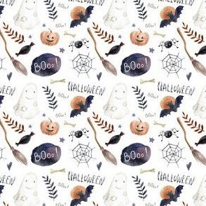 Small // Halloween Night // White
