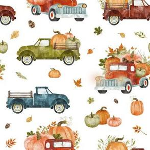 Pumpkin Farm // White