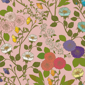 Wild Blooms - Pink {July 2019 Edition}