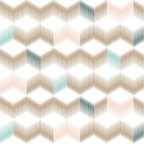 Chevron Cubes